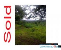 FARM FOR SALE IN CHIKWAWA