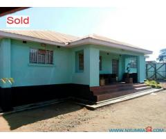 HOUSE FOR SALE IN MCHESI IN LILONGWE