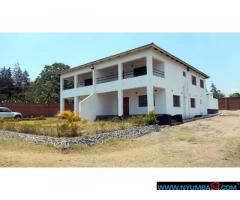 LARGE PLOT FOR SALE WITH DUPLEX 3 BEDROOM HOUSES