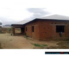 UNFINISHED HOUSE FOR SALE IN CHILEKA-CHATHA