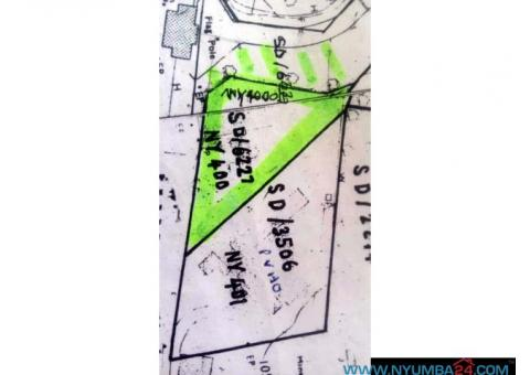 PLOT FOR SALE AT WENELA