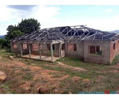 UNFINISHED HOUSE FOR SALE IN MPEMBA