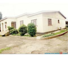 Four bedroom house for sale in Lilongwe