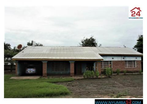 House for sale in Nchalo, Chikwawa