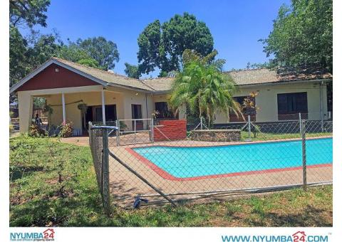 4 Bedroom House with Swimming Pool to Let in Mandala, Blantyre
