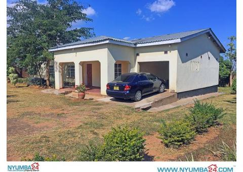 3 Bedroom House for Rent In New Naperi, Blantyre