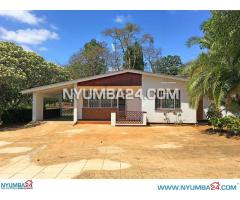Four Bedroom House For Rent in Namiwawa, Blantyre
