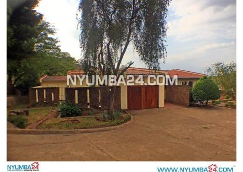 Four Bedroom House for Rent in Kabula, Blantyre